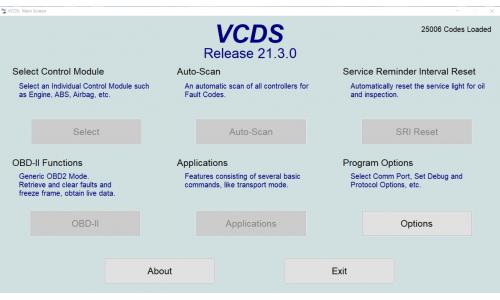 Новость 02.03.2021: Вышла свежая версия для VCDS 21.3.0